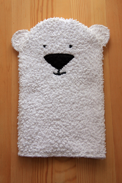 Polar Bear Glove Puppet