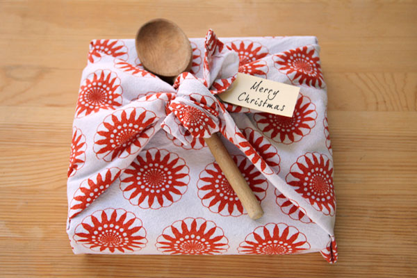 Tea Towel Gift Wrapping Things For Boys