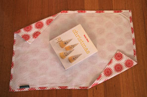 Tea towel gift wrapping