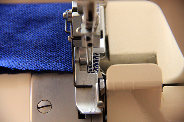 Finishing Seams for Serging/Overlocking