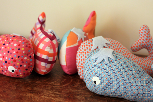 Whale softies!
