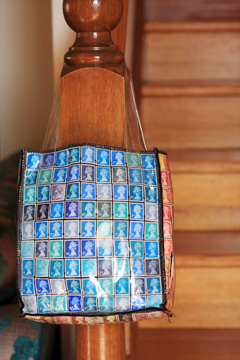British Stamps Bag