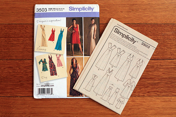 Simplicity 3503 - view A