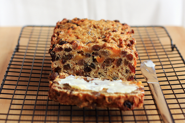 Sugar Free, Egg Free, Dairy Free Fruit Loaf