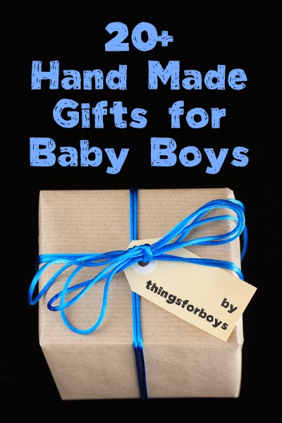 Baby Boy Gifts To Sew : Handmade gift ideas for baby boys things