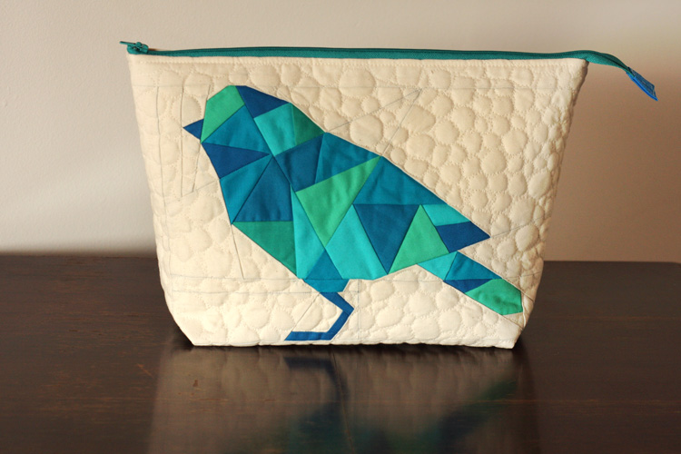 Geometric Bird Pouch