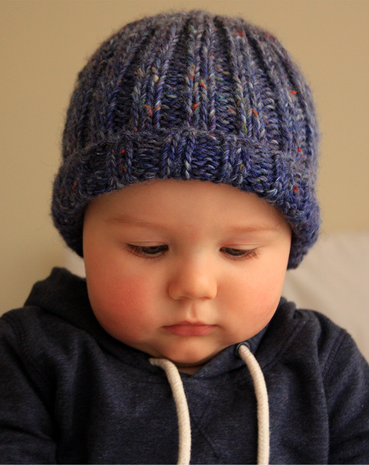 Free Knitting Pattern - Simple Beanie - Things for Boys